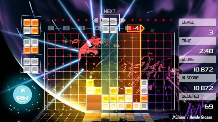 Lumines Remastered 1