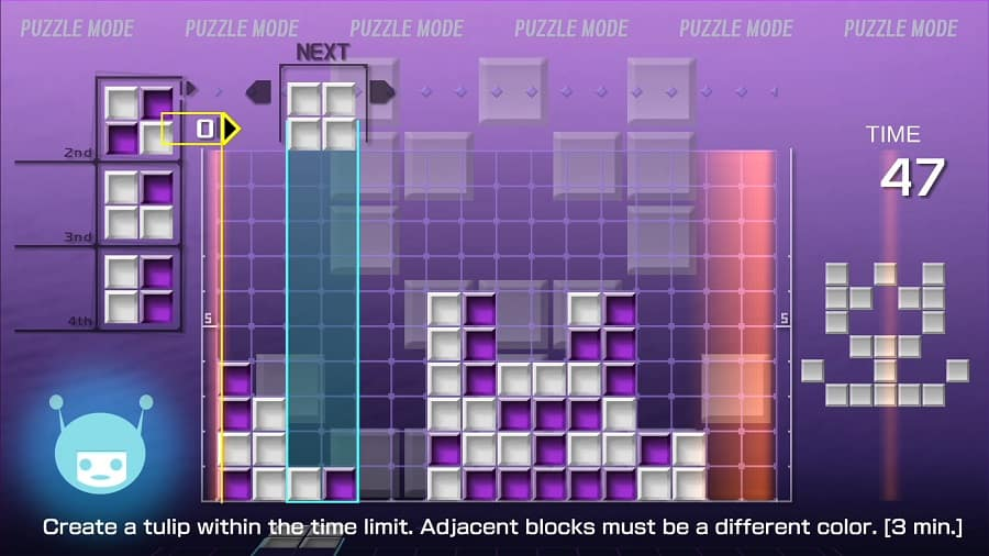 Lumines Remastered 4