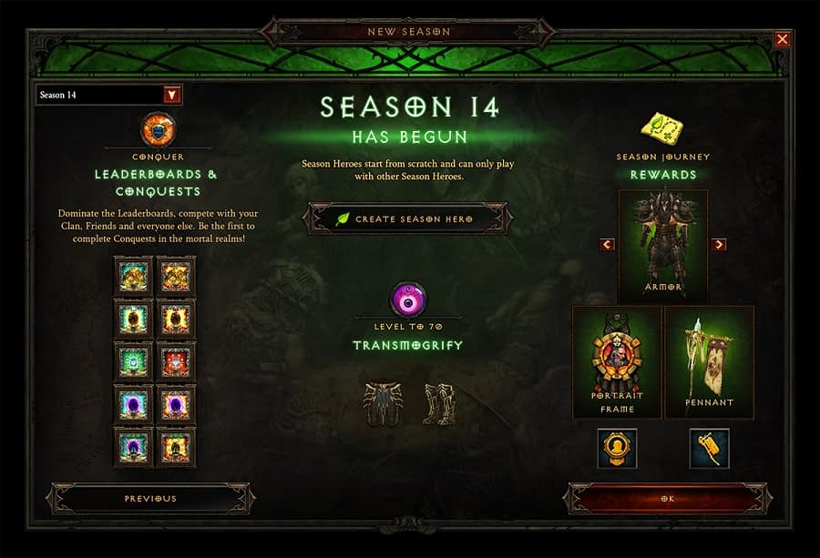 Diablo 3 Season