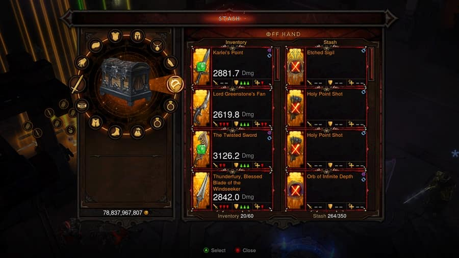 Diablo 3 Stash