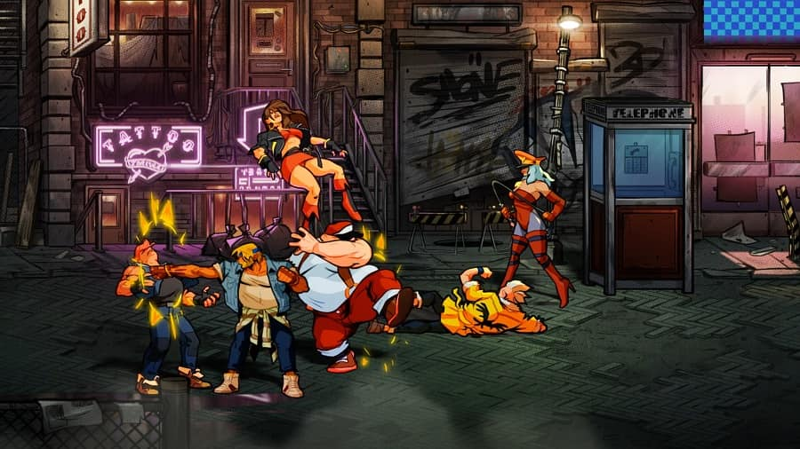 7 Games Like Streets Of Rage On Ps4 Gamespew