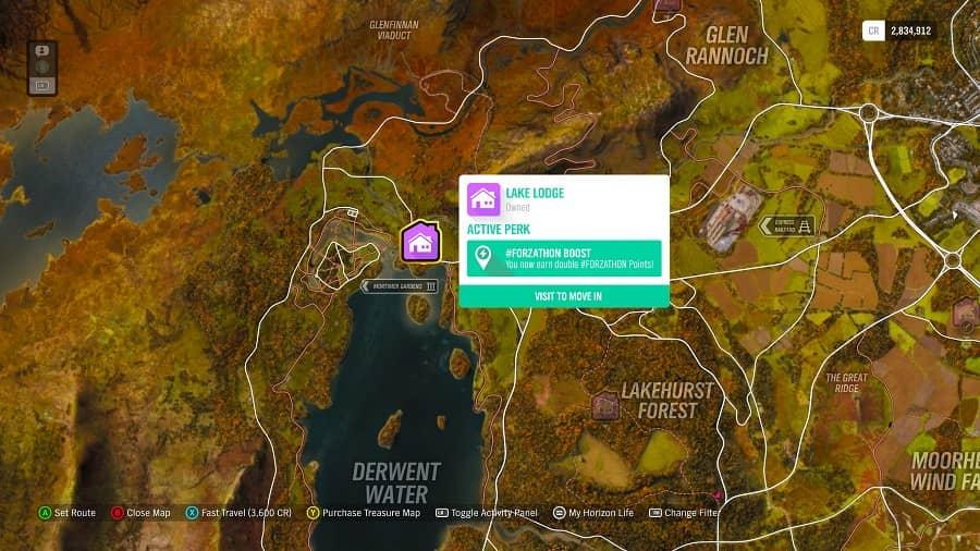 Forza Horizon 4 Lake Lodge