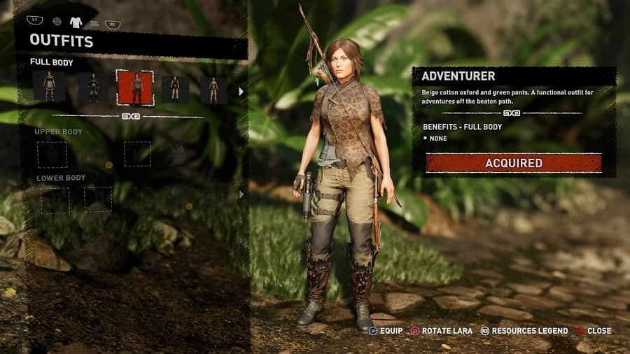 How To Change Outfits In Shadow Of The Tomb Raider Gamespew