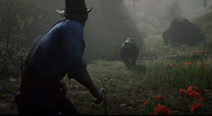 A Bear Steals the Show in Red Dead Redemption 2's Launch ...