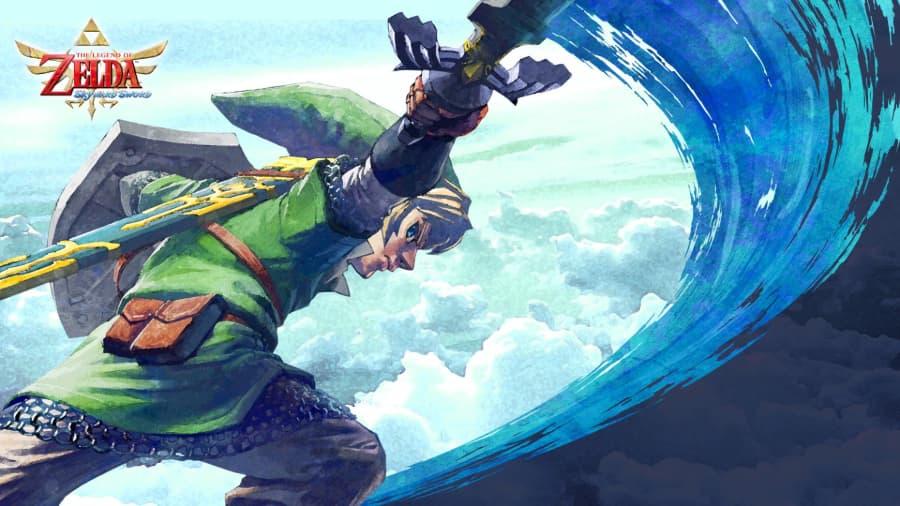 The Legend of Zelda: Skyward Sword switch