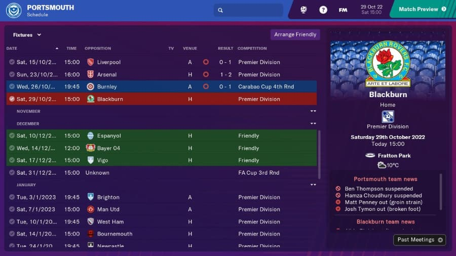 Football Manager 2019 Has The 2022 FIFA World Cup All