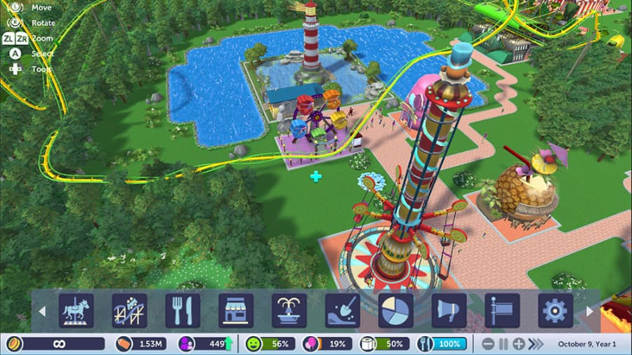 Rollercoaster Tycoon Adventures Review – GameSpew