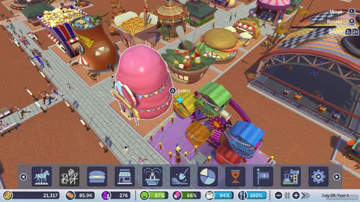 planet coaster play online