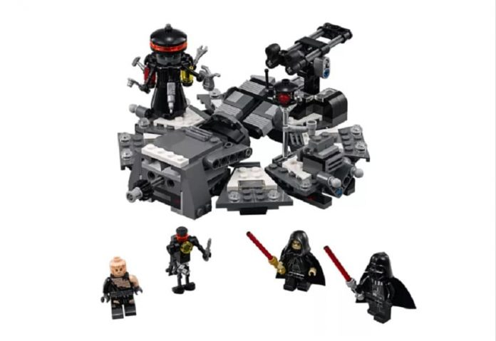 LEGO Star Wars Vaders Transformation