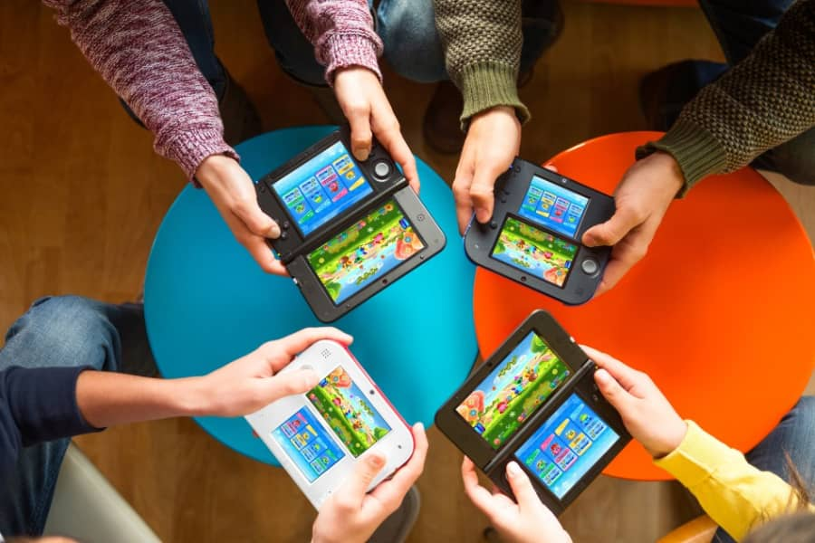 best online multiplayer 3ds games