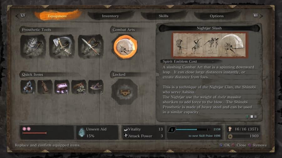 Sekiro Combat Arts 2