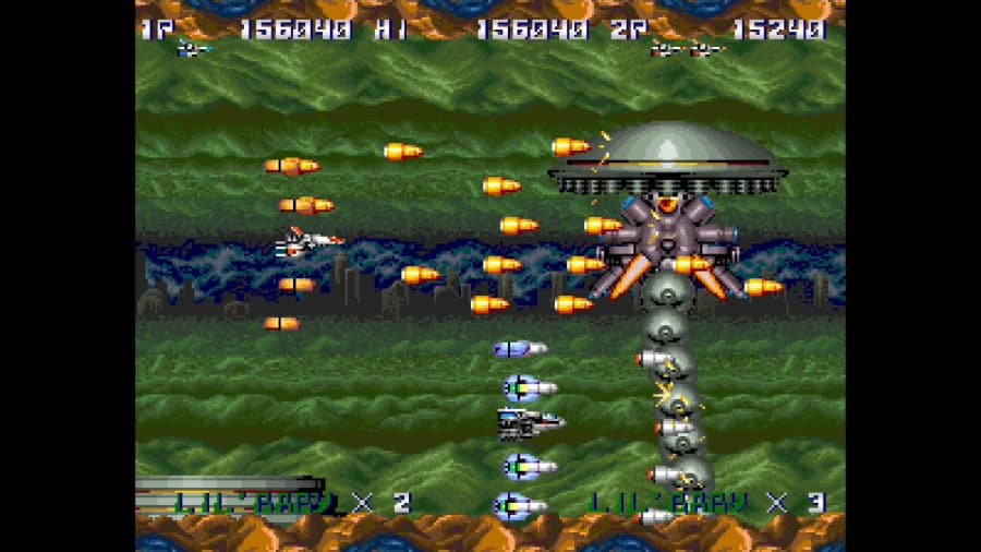 Arcade Classics Thunder Cross (1)