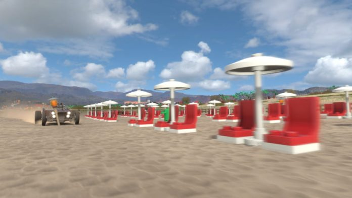 Forza Horizon 4 Umbrella Stands