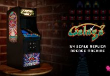 Quarter arcades Galaga