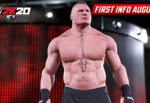 WWE 2K20 Brock Lesnar