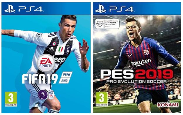 Who Wore It Better: FIFA vs Pro Evo Covers, 2001 to 2020