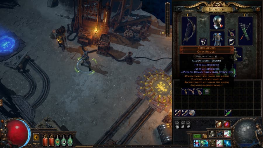 Path of Exile Blight Enchanted Amulet