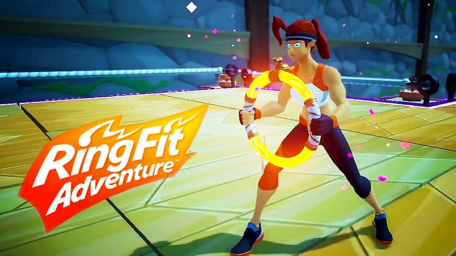 Ring Fit Adventure on Nintendo Switch is a Genuinely Great Workout – GameSpew