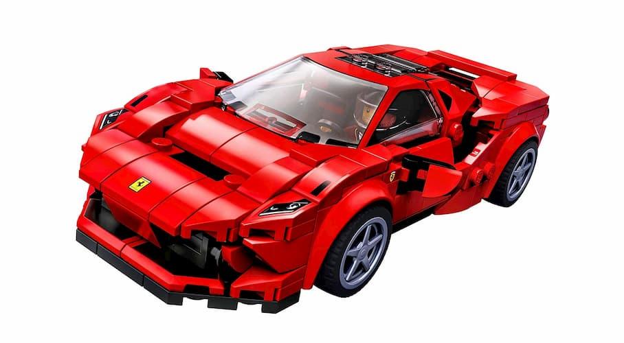 Lego 76895 Speed Champions Ferrari F8 Tributo Review Gamespew