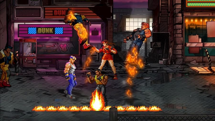 Streets of Rage 4 Retro (1)