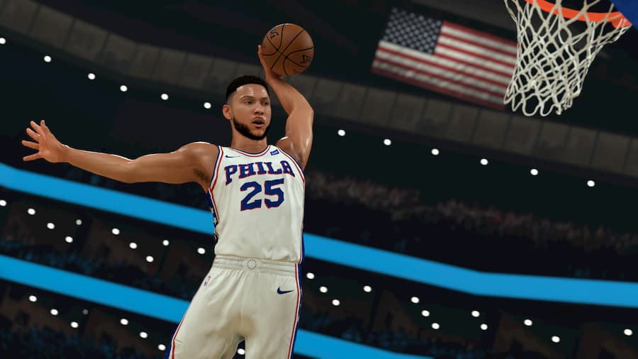NBA 2K21 CG - Ben Simmons Dunk