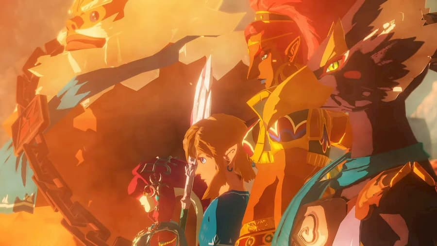 hyrule warriors: the age of calamity