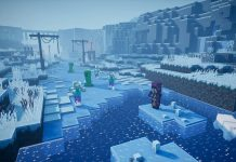 creeping winter minecraft dungeons