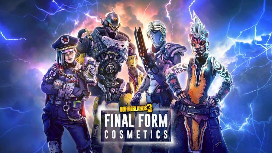 Borderlands 3 Final Form Cosmetics