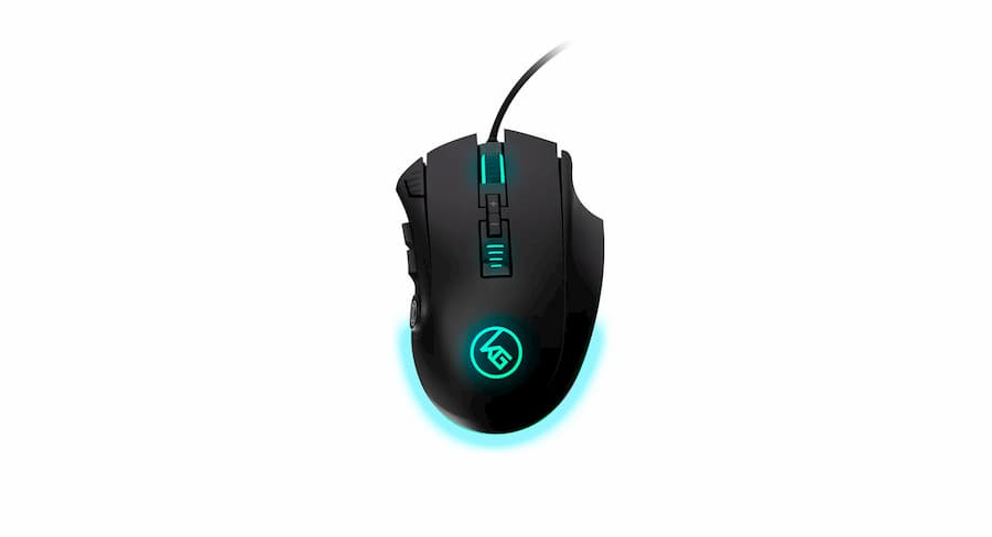 Pro MMO GAming Mouse 2