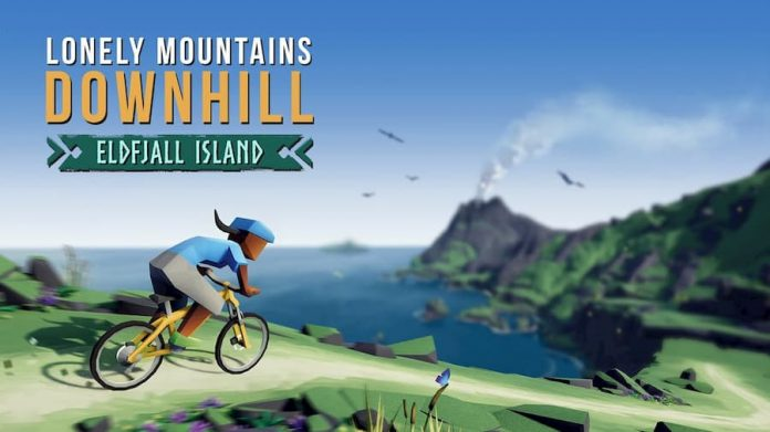 lonely mountains: downhill eldfjall island