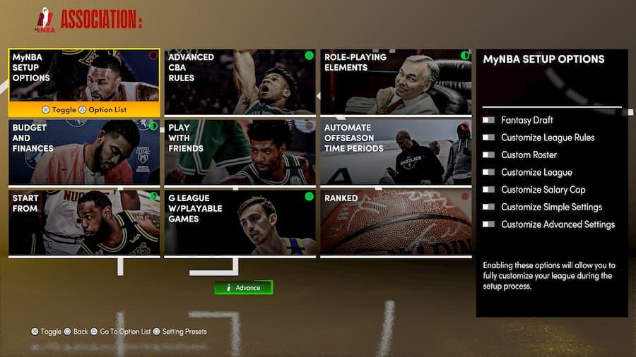 NBA 2K21 MyNBA