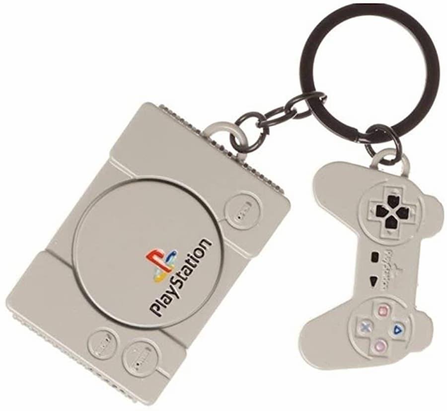 Classic PlayStation keychain