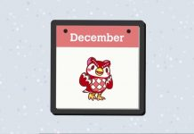 Animal Crossing December