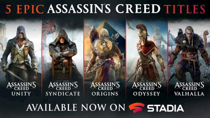 Assassin's Creed on Stadia