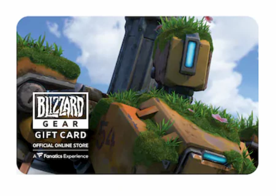 Overwatch Blizzard Store Gift Card
