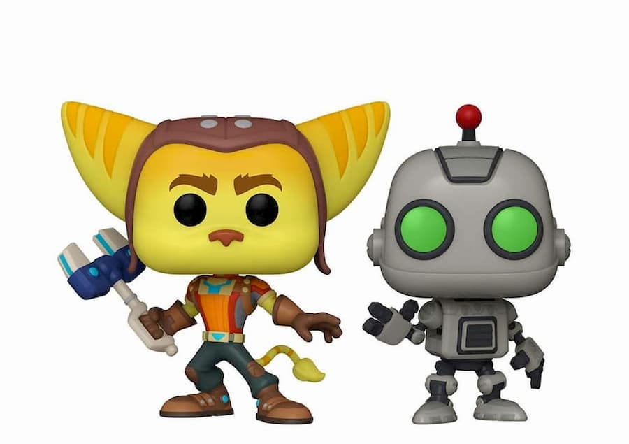 Ratchet and Clank Funko Pop