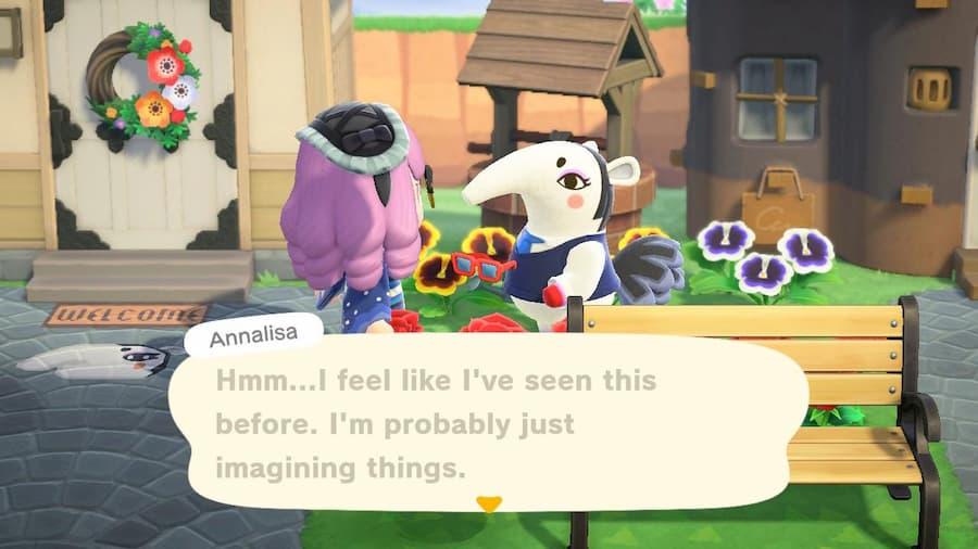 Regifting in Animal Crossing