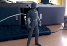 Cyberpunk 2077 3D printed figure