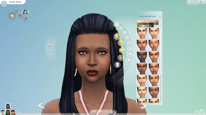 The Sims 4 Skintone Update