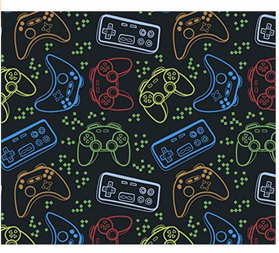 Video Game Wrapping Paper