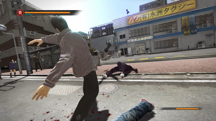 The Yakuza Remastered Collection 3