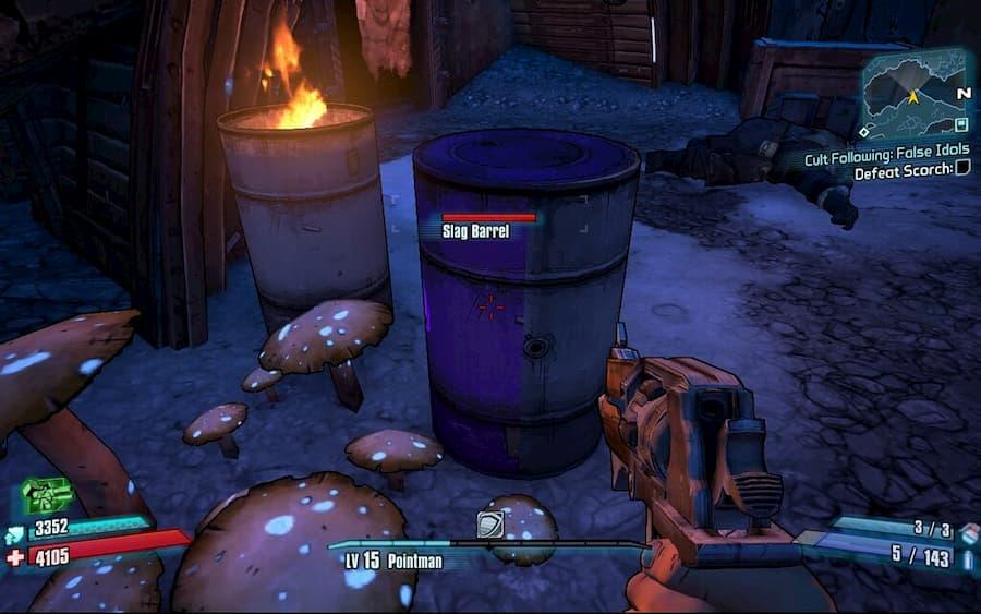 Borderlands Explosive Barrel