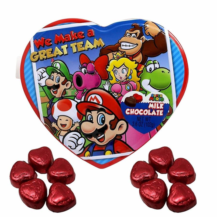 Mario Chocolate Tin