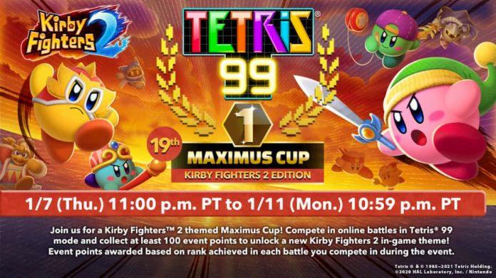 Kirby Fighters 2 Tetris 99