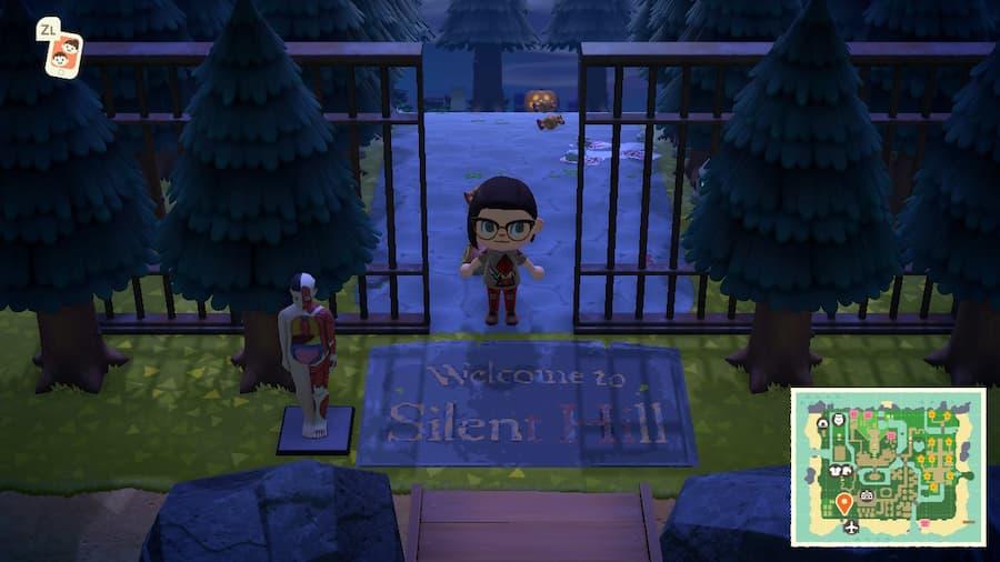 best dream island Animal Crossing Silent Hill Island