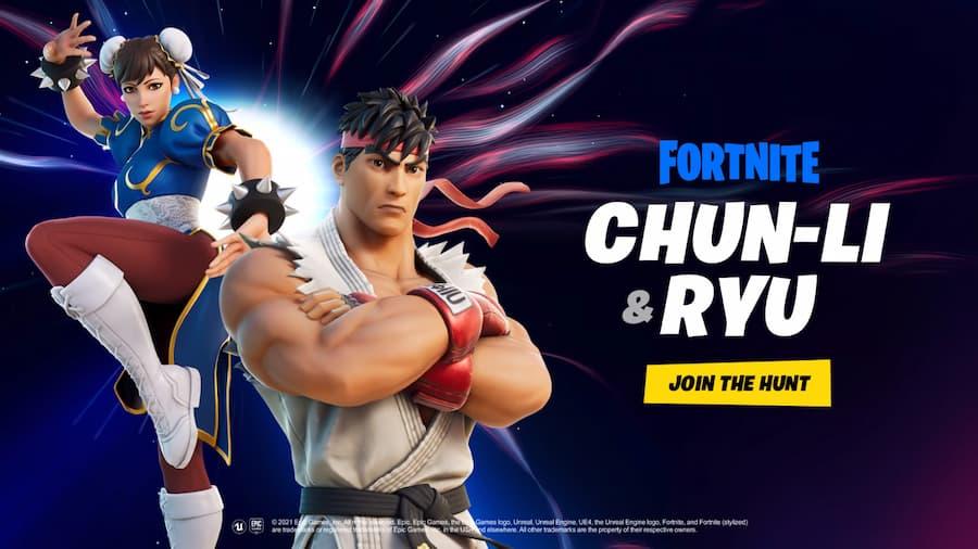 Street Fighter Fortnite