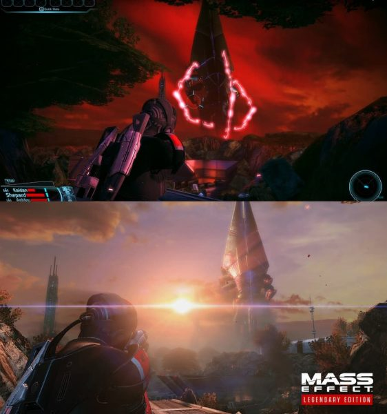 Mass Effect comparison