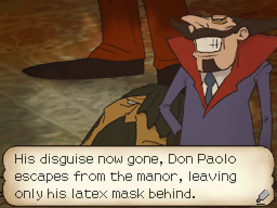 don paolo professor layton