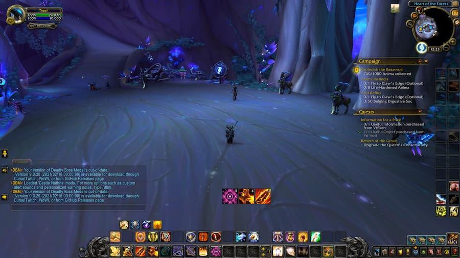 World of Warcraft Hekili