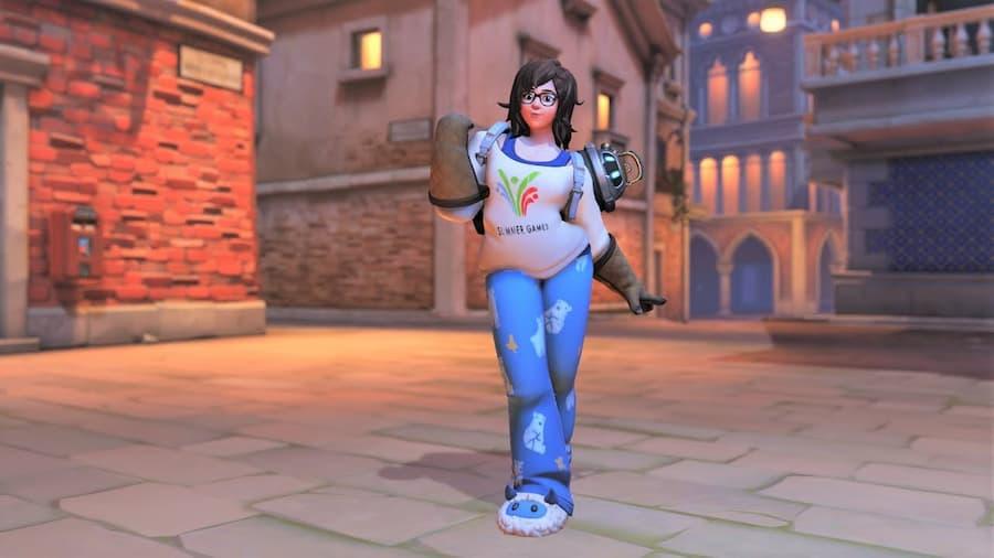 Overwatch Mei Skin